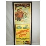 15X37 LIGHTNING GUNS CARDBOARD