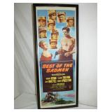 15X37 BEST OF THE BAD MEN CARDBOARD