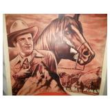 VIEW 2 CLOSEUP GENE AUTRY CANVAS