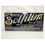 7X14 SOLFILINE EMB. METAL SIGN