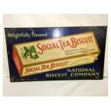 12X21 SOCIAL TEA BISCUIT SIGN