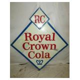 51X54 ROYAL CROWN COLA DIAMOND SIGN