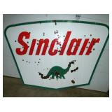 60X84 PORC. SINCLAIR DINO SIGN
