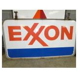 46X84 EXXON SIGN W/ HANGER
