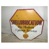 36IN SHELLUBRICATION SIGN