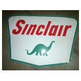 7FT. PORC. SINCLAIR DINO SIGN