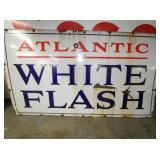 42X72 PORC. ATLANTIC WHITE FLASH SIGN