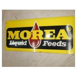 20X42 MOREA LIQUID FEEDS SIGN