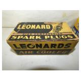OLD STOCK LEONARDS SPARK PLUGS