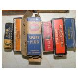 VARIOUS OLD STOCK SPARK PLUGS W/ BOXES