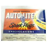 AUTOLITE SPARK PLUGS NICE COLOR