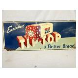 12X30 TIP-TOP BREAD SIGN