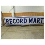 2FT.X12FT. RECORD MART SIGN