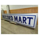 VIEW 3 RIGHTSIDE RECORD MART SIGN