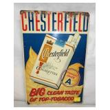 12X18 CHESTERFIELD CIG. SIGN