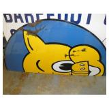 32X69 PORC. PARTIAL PIGGLY WIGGLY SIGN