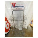 18X53 1957 TOMS CONFECTIONS RACK