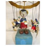 VIEW 2 WINDUP PINOCCHIO  SWING TOY