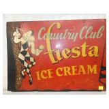 VIEW 2 OTHERSIDE COUNTRY CLUB ICE CREAM SIGN