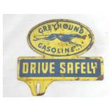 5X7 GREYHOUND GAS TAG TOPPER