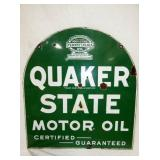 VIEW 2 OTHERSIDE PORC. QUAKER STATE OIL SIGN