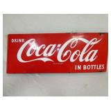 16X44 PORC. COCA COLA SLED SIGN