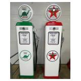 SINCLAIR/TEXACO REPLICA GAS PUMPS