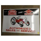 24X36 FOR D TRACTOR SERVICE SIGN