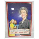 19X26 US CADET NURSE PAPER AD