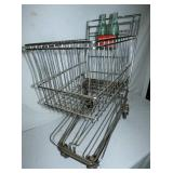 UNUSUAL CHILDS SHOPPING CART W/ COKE