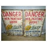 25X36 S.P TERRY PAINT SIGNS
