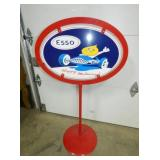 ESSO HAPPY MOTORING LOLLY POP SIGN