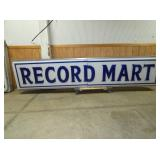RECORD MART SIGN