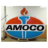 VIEW 2 OTHERSIDE LIGHTED AMOCO SIGN