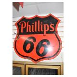 VIEW 2 DOUBLE SIDED PORC. PHILLIPS 66