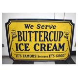 VIEW 2 OTHERISDE 1949 BUTTERCUP SIGN