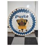 30IN PORC. PUROL ETHYL SIGN