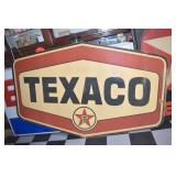 VIEW 2 OTHERSIDE TEXACO FIBERGLASS SIGN