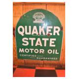 26X28 PORC. QUAKER STATE MOTOR OIL SIGN