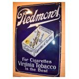 30X46 PORC. PIEDMONT TOBACCO SIGN