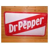 45X68 DR. PEPPER BUBBLE SIGN