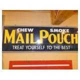 20X60 EMB. MAIL POUCH TOBACCO SIGN