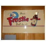 32X56 EMB. FROSTIE DRINK SIGN