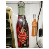 16X58 EMB. ROYAL CROWN BOTTLE SIGN