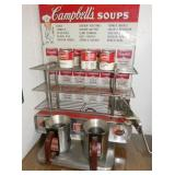 CAMPBELLS SOUPS STATION W/ SIGN