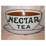 14X21 PORC. NECTAR TEA SIGN
