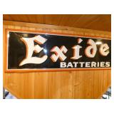 VIEW 2 CLOSEUP EMB. EXIDE BATTERIES