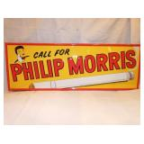 9X27 EMB. PHILIP MORRIS SIGN