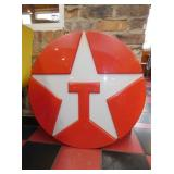 33IN TEXACO STAR INCERT SIGN
