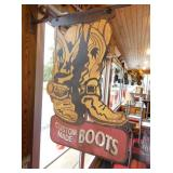VIEW 2 OTHERSIDE CUSTOM BOOTS SIGN